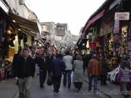 Callejuelas cerca del bazar en Estambul