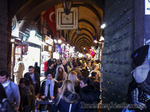 El Bazar de las Especias en Estambul