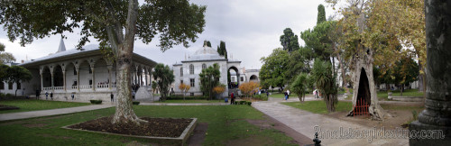 Interior del Palacio de Topkapi