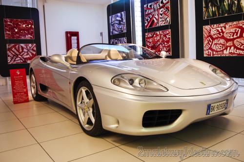 Ferrari 360 Barchetta en Museo Ferrari