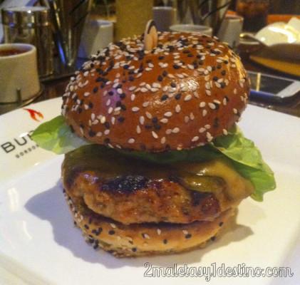 Britannia Burger de Gordon Ramsey BurGR Las Vegas