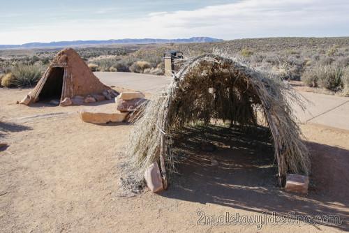 Tiendas de los indios Hualapai
