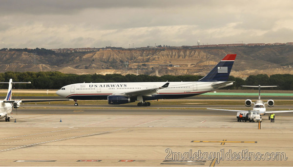 Airbus 330 US Airways - Aeropuerto Barajas Madrid