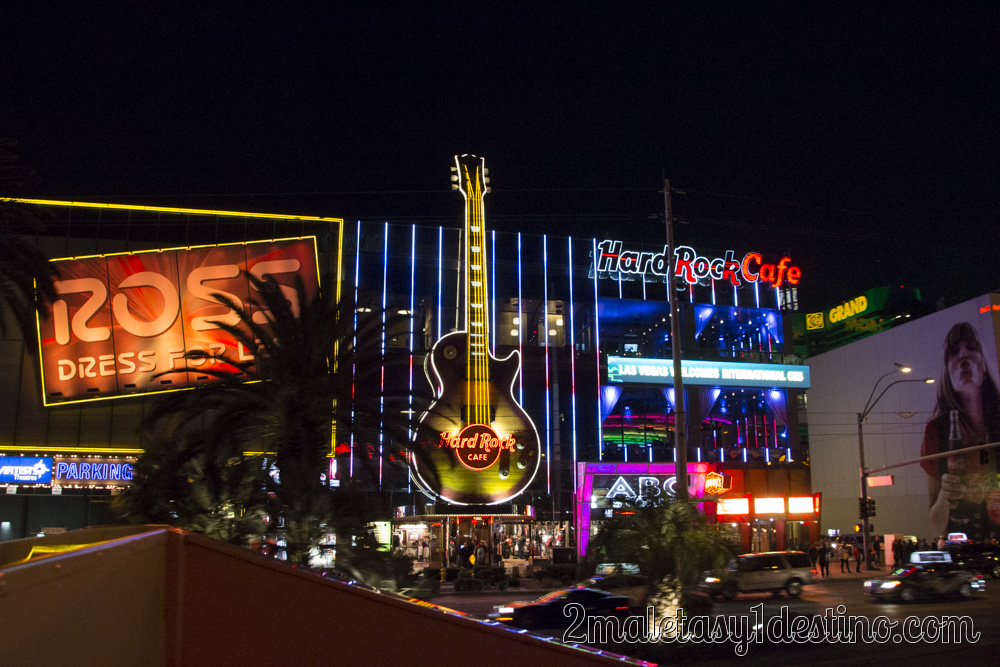 hard rock cafe las vegas 2 maletas y 1 destino. Black Bedroom Furniture Sets. Home Design Ideas