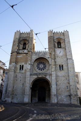 Lisboa - Catedral de Santa María