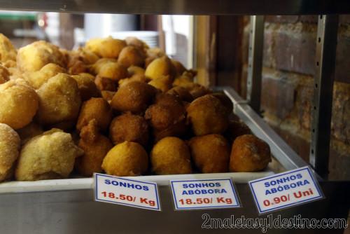 Lisboa - Dulces típicos - Pastelería - Sonhos