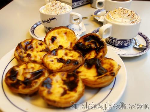 Lisboa - Dulces típicos - Pasteles de Belem