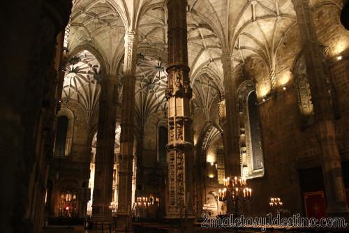Lisboa - Iglesia del Monasterio de los Jerónimos