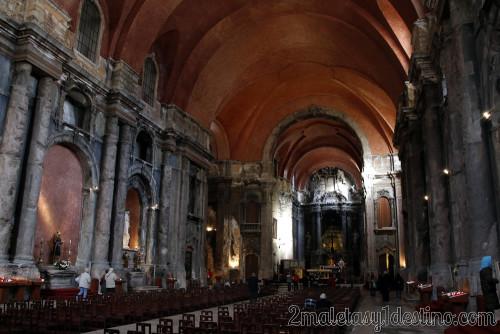 Lisboa - Iglesia quemada - Iglesia de Santo Domingo