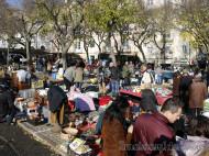 Lisboa - Mercadillo en el Campo de Santa Calra
