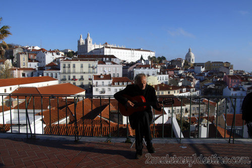 Lisboa - Mirador de Santa Lucía