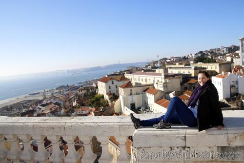 Lisboa - Panteón Nacional - azotea