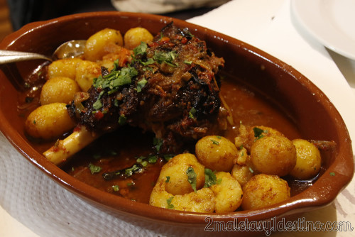 Lisboa - Restaurante Casa do Alentejo - Lechazo