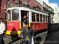 Lisboa - Tranvía antiguo