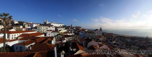 Lisboa vista panorámica