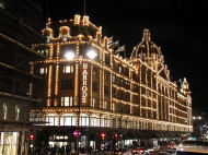 Londres - Bus nocturno Harrods