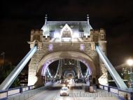 Londres - Bus nocturno Tower Bridge - 2maletasy1destino