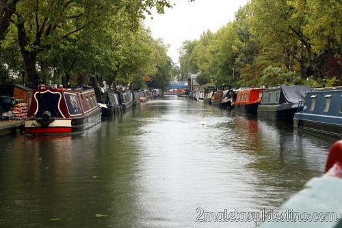 Londres - Crucero por Little Venice - barcos