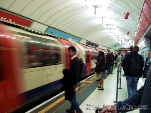 Londres - Metro y underground tarjeta Oyster