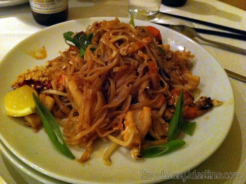 Londres - New Thai Garden - noodles