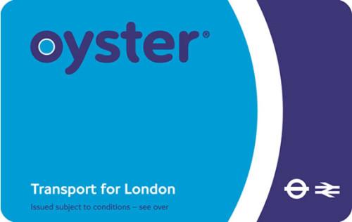 Londres - Oyster transporte