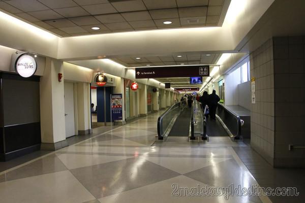 Pasillo Aeropuerto Internacional de Philadelphia