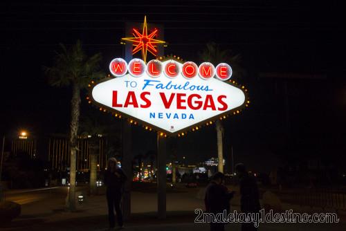 Señal Wellcome Las Vegas