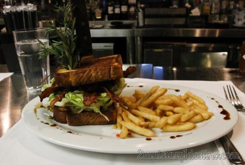 The Famous BBBLT Sandwich - Hash House a Go Go