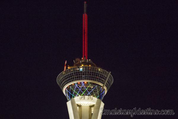 Asi Es Las Vegas La Ciudad Que Nunca Duerme: Torre Stratosphere