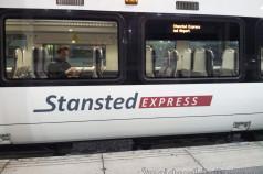 Tren Stansted Express Aeropuerto Londres