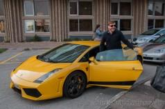 Alfonso Eguino en Lamborghini Gallardo