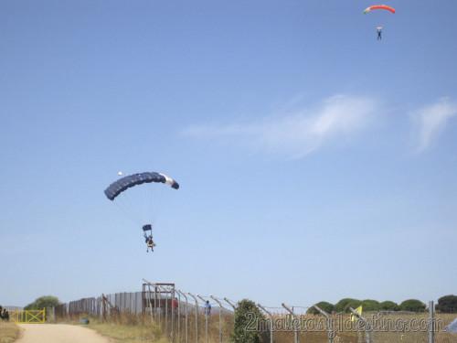 Aterrizaje paracaídas