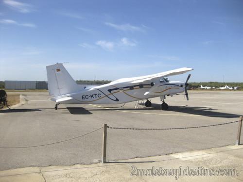 Avioneta SkyDive Spain