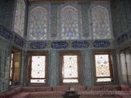 Azulejos y cristales del Palacio de Topkapi