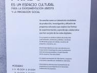 Cartel Medialab-Prado Madrid