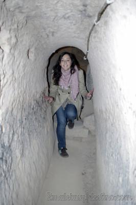 Ciudad subterranea de Sarackli - Turquía