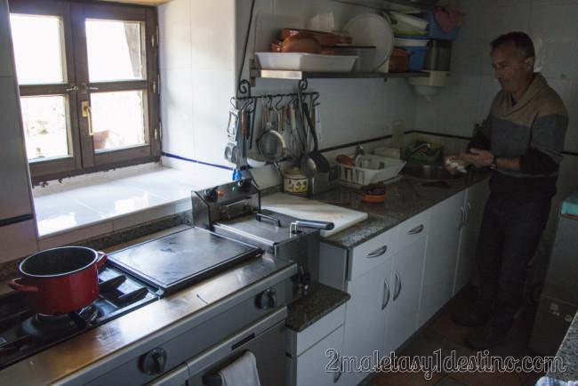 Cocina de La Torraya