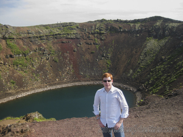 Lago cráter Kerið