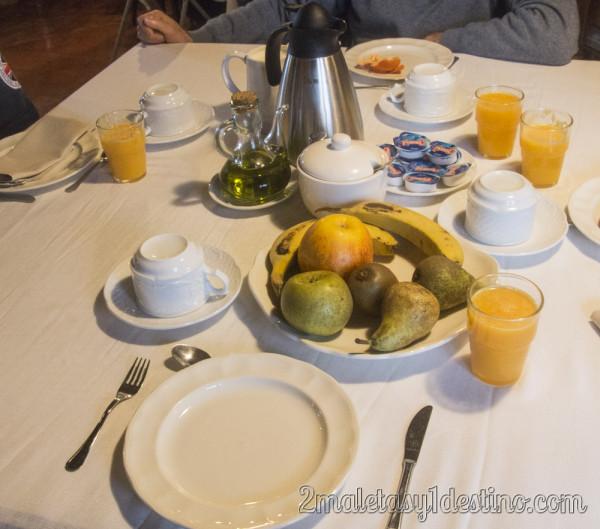 Desayuno Heredad de la Cueste