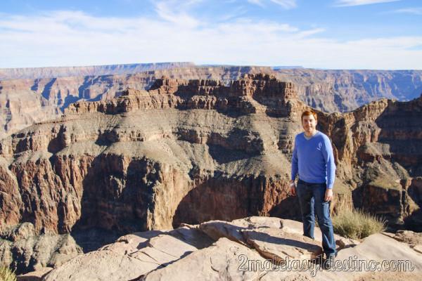 Eguino en Gran Cañón del Colorado