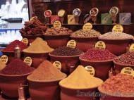 Especias en el Bazar Egipcio