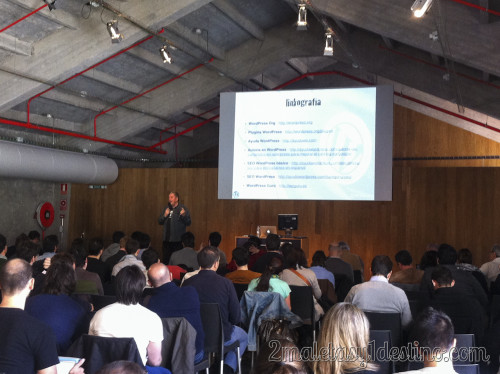 Fernando Tellado en WordPress Day Madrid