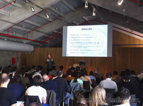 Fernando Tellado en WordPress Day Madrid
