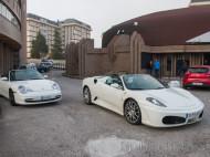Ferrari F430 Spider y Porsche Carrera