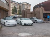Ferrari F430 Spider y Porsche Carrera y Carrera 4S