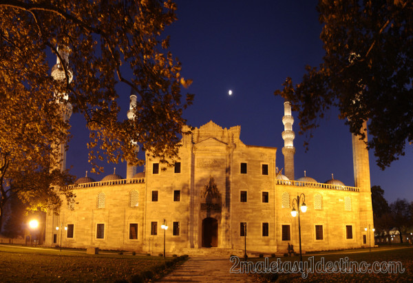Frontal de la Mezquita de Suleiman - Estambul