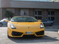 Frontal del Lamborghini Gallardo