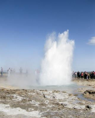 Géiser Strokkur en Islandia