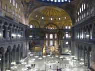 Interior Santa Sofía - Estambul