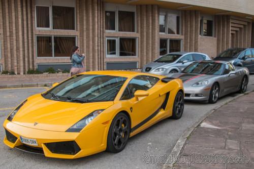 Lamborghini Gallardo y Corvette C6